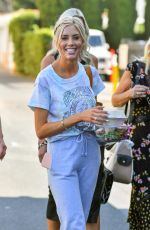 HEATHER RAE YOUNG Heading to Her Final Wedding Dress Fitting in Beverly Hills 08/26/2021
