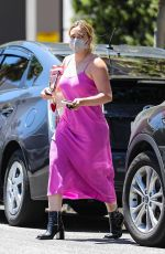 HILARY DUFF Out in Beverly Hills 08/02/2021