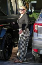 HILARY DUFF Out in Studio City 08/01/2021