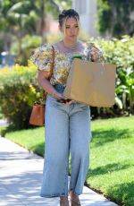 HILARY DUFF Out Shopping in Los Angeles 08/02/2021