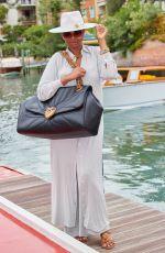 JENNIFER HUDSON Arrives at Hotel Excelsior in Venice 08/28/2021