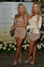 JESS and EVE GALE at Adora Swim Event in London 07/30/2021