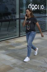 JESSICA ENNIS-HILL at Media City in Salford 08/03/2021