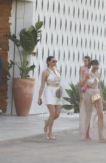 JESSICA WRIGHT Leaves Nikki Beach in Ibiza 08/13/2021