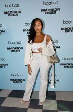 JORDYN WOODS at Boohoo x Madison Beer Launch in Los Angeles 08/02/2021
