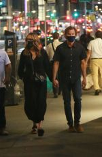 JULIA ROBERTS and Danny Moder Night Out in New York 08/06/2021
