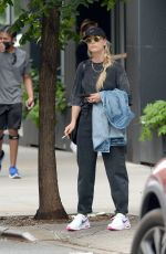 KALEY CUOCO Out Smoking in New York 08/01/2021