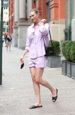 KARLIE KLOSS Out in New York 08/04/2021