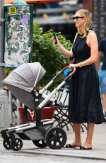 KARLIE KLOSS Out with Her Baby in New York 08/03/2021
