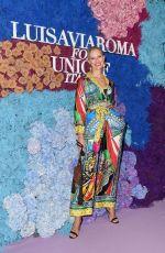 KAROLINA KURKOVA at LUISAVIAROMA for UNICEF in Capri 07/31/2021