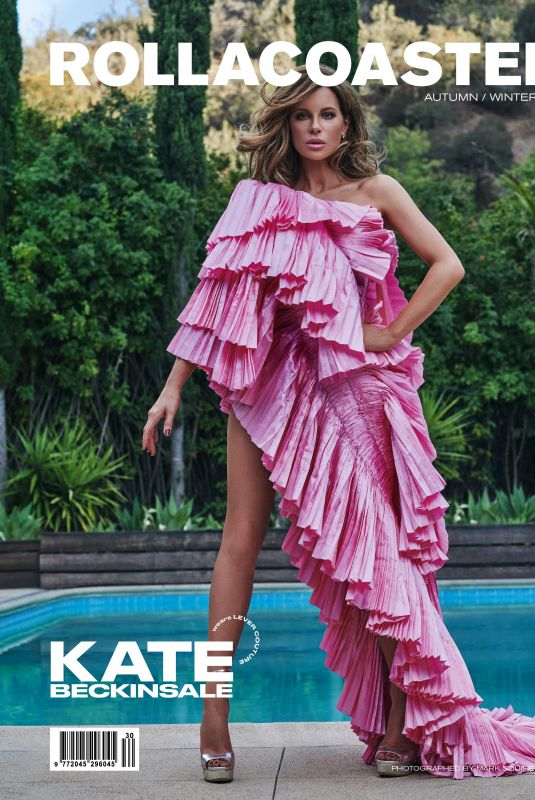 KATE BECKINSALE on the Cover of Rollacoaster Magazine, Autumn/Winter 2021