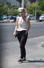 KATE MARA Out for Lunch in Los Angeles 07/29/2021