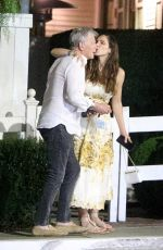 KATHARINE MCPHEE and David Foster at San Vicente Bungalows in West Hollywood 08/03/2021
