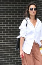 KATIE HOLMES Out and About in New York 08/03/2021