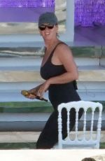 KATY OERRY Rehearses for UNICEF Gala Concert in Capri 08/01/2021
