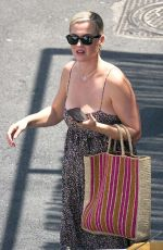 KATY PERRY Out for Lunch in Capri 08/02/2021