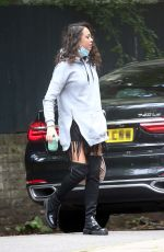 KATYA JONES Out and About in London 08/04/2021