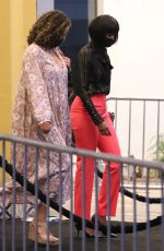 KELLY ROWLAND Out in West Hollywood 08/08/2021