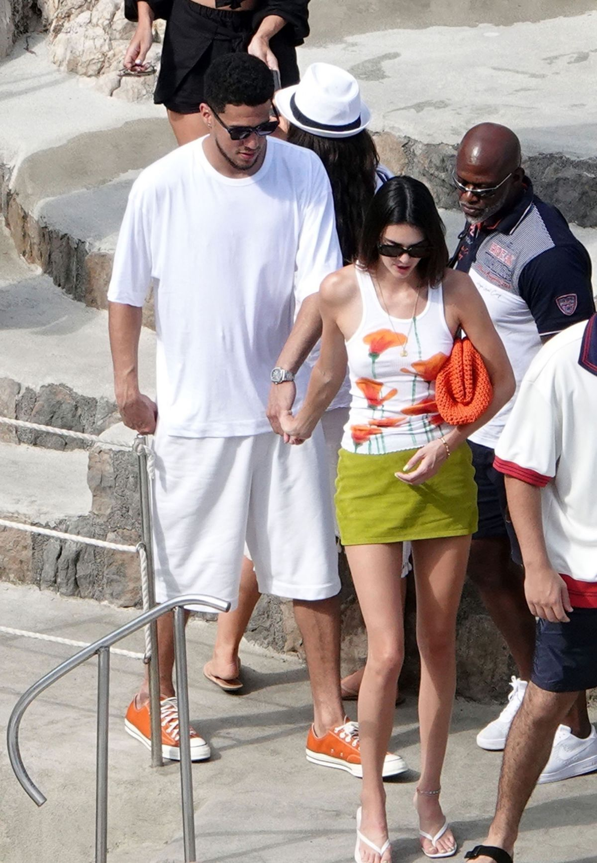 KENDALL JENNER and Devin Booker Out in Salerno 08/25/2021 – HawtCelebs