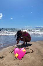 KIRA KOSARIN in Bikini - Instagram Photos 08/08/2021