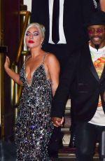 LADY GAGA and Michael Bearden Leaves Radio City Music Hall in New York 08/05/2021