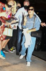 LADY GAGA Greets Fans at Her Hotel in New York 08/04/2021