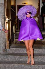 LADY GAGA Leaves Radio City Music Hall in New York 08/01/2021