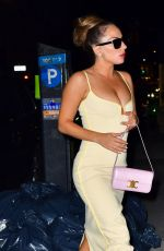 LADY GAGA Night Out in New York 08/07/2021