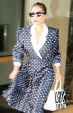 LADY GAGA Out at Lexington Avenue in New York 07/31/2021