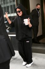 LADY GAGA Out in New York 08/03/2021