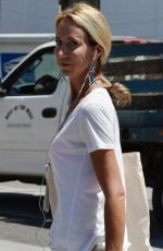 LADY VICTORIA HERVEY Out in Beverly Hills 08/27/2021