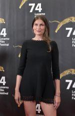 LAETITIA CASTA Receives Davide Campari Excellence Award at 2021 Locarno Film Festival 08/05/2021