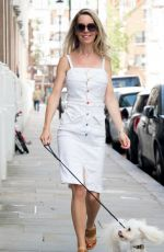 LEILE RUSSACK Out in Kensington 08/04/2021