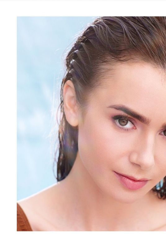 LILY COLLINS for Lancome Summer 2021 Campaign