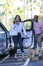 LISA VANDERPUMP and Ken Todd Out for Dinner at Beverly Hills Hotel 08/04/2021