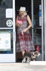 MALIN AKERMAN at a Pet Store in Los Feliz 08/16/2021