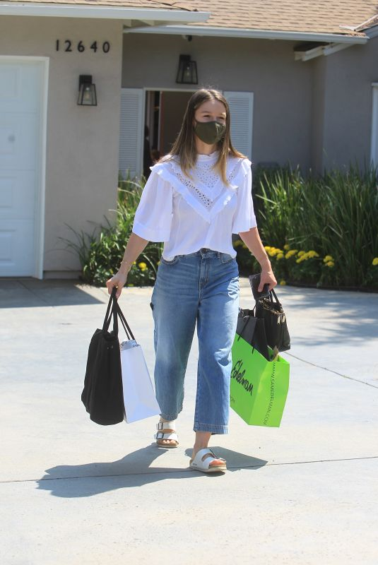 MELISSA BENOIST at Jennifer Klien's Day of Indulgence Party in Brentwood 08/15/2021