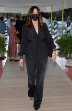 MONICA BELLUCCI Arrives at Dolce & Gabbana Event in Venice 08/28/2021