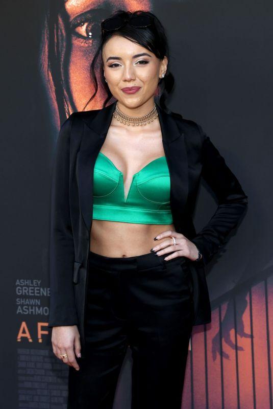 MONTSE HERNANDEZ at Aftermath Premiere in Los Angeles 08/03/2021