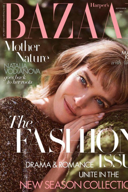 NATALIA VODIANOVA in Harper's Bazaar Magazine, UK September 2021