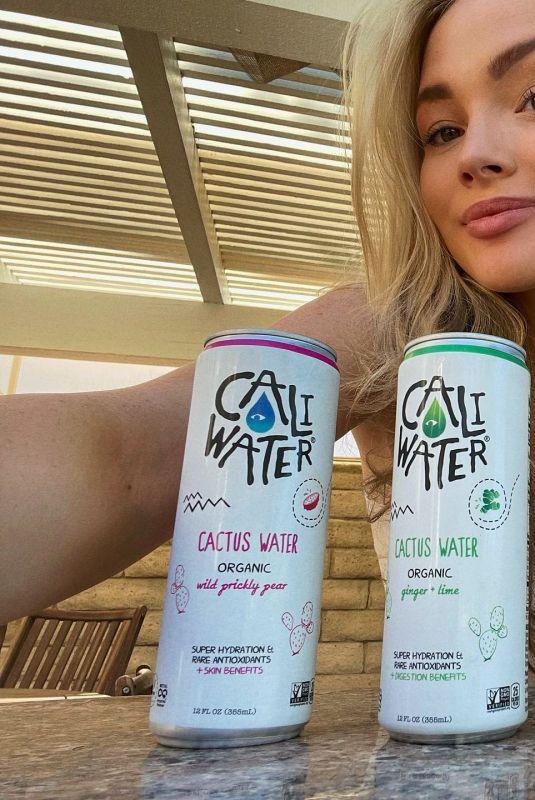 NATALIE ALYN LIND for Caliwater, August 2021