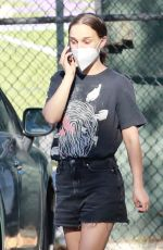 NATALIE PORTMAN Out and About in Los Feliz 08/27/2021