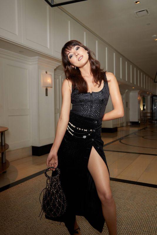 NATASHA LIU BORDIZO – The Voyeurs Premiere Vogue Photo Diary, August 2021