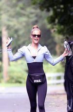 NINA AGDAL Leaves Her Yoga Class in New York 08/28/2021