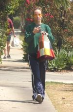 OLIVIA WILDE Out and About in Los Feliz 08/30/2021