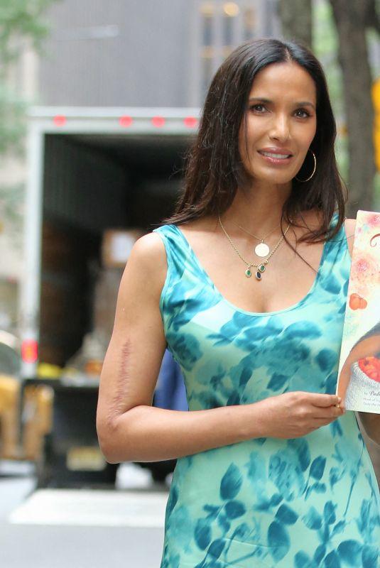 PADMA LAKSHMI Promotes Her New Children's Book Tomatoes for Neela in New York 08/30/2021