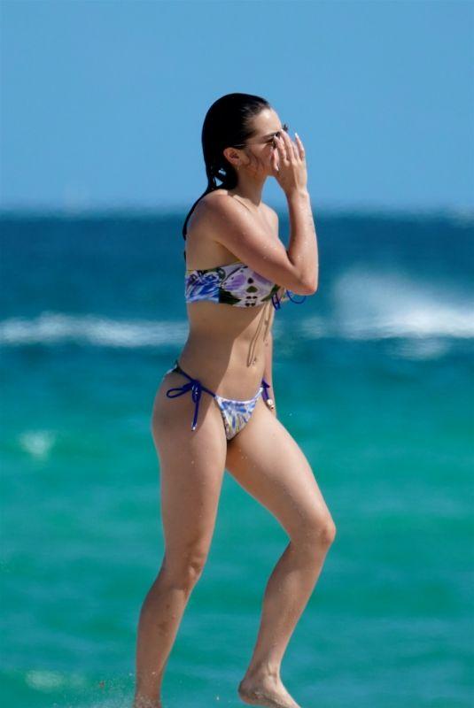 PARIS BERELC in Bikini at a Beach in Miami 07/31/2021