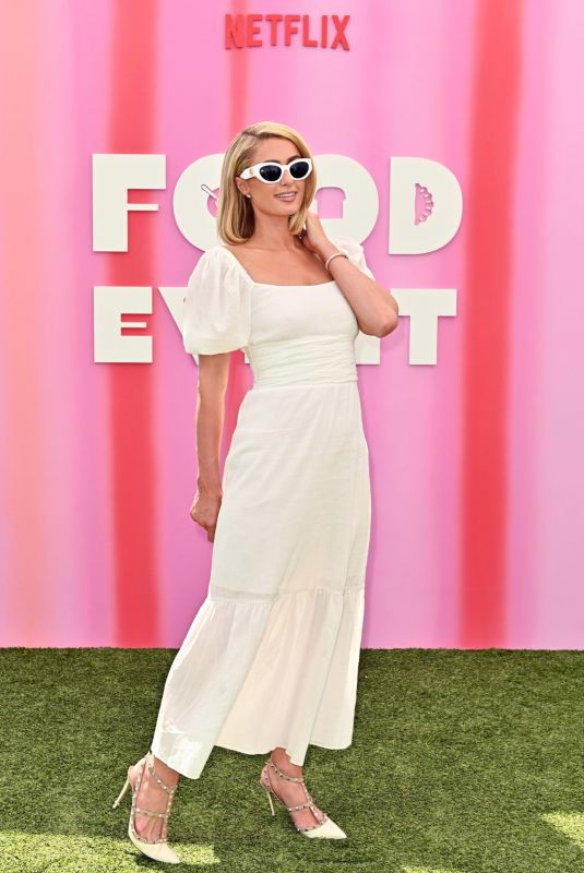 PARIS HILTON at Netflix Food Event at London West Hollywood in Beverly Hills 08/04/2021