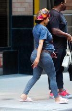 Pregnant CARDI B Shopping on Fifth Avenue in in New York 08/25/2021