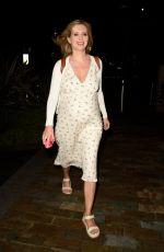 Pregnant RACHEL RILEY Leaves Media City in Salford 08/16/2021